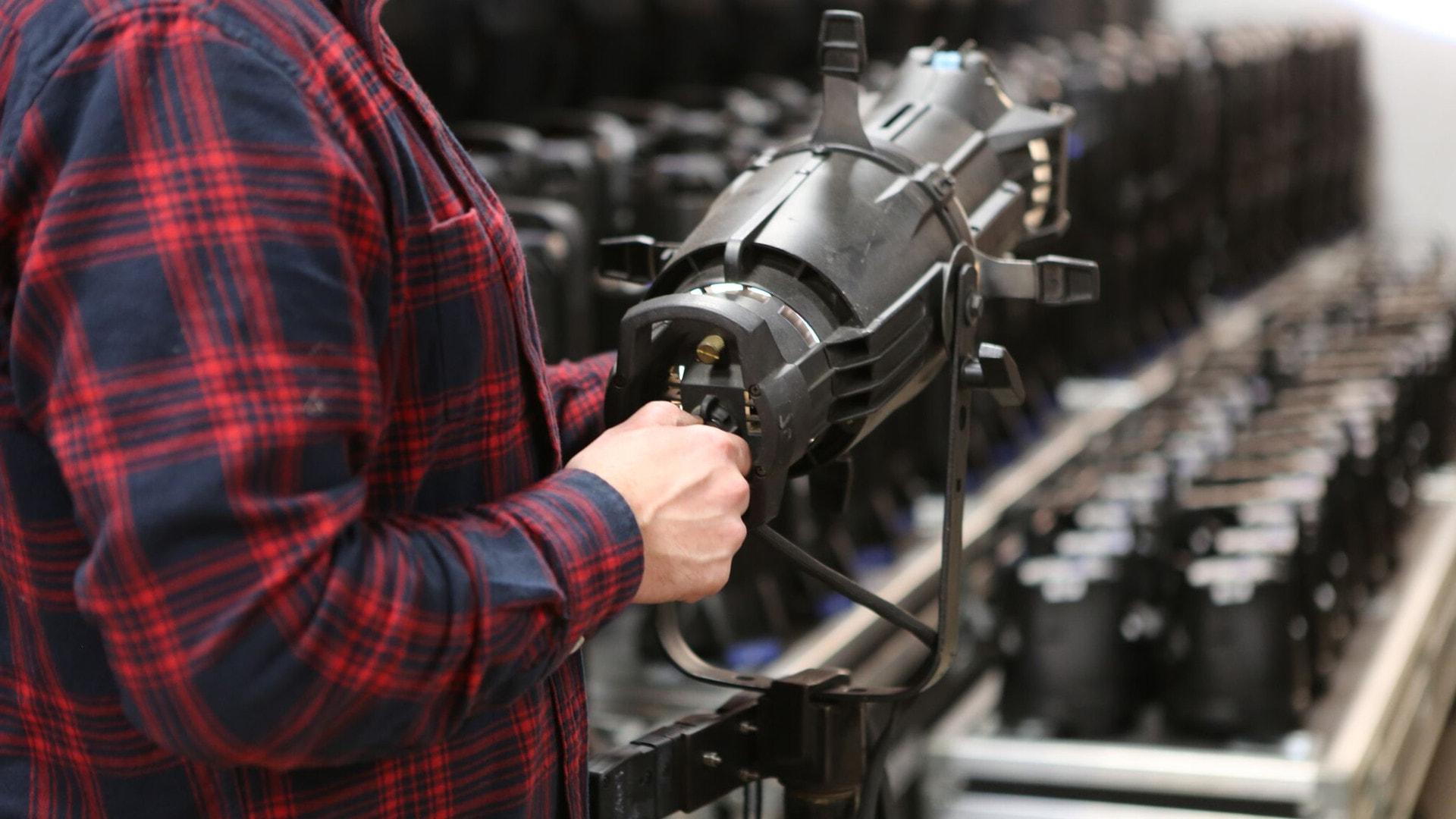 Lighting Equipment - Hayden Production Services