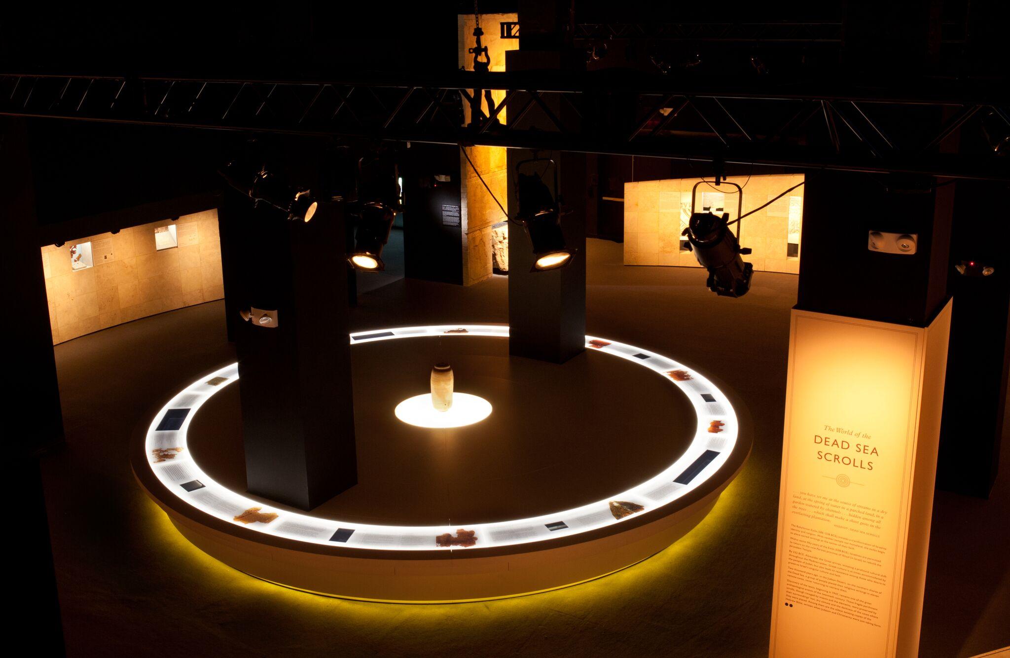 Museum Exhibit Lighting - Hayden Production Services