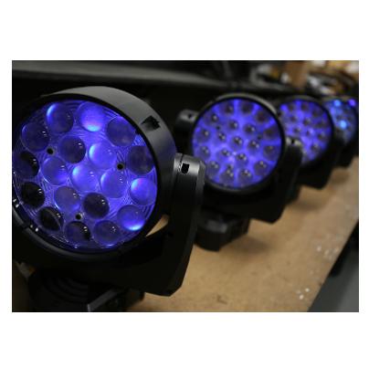 LED Wash Lights - Hayden Production Services